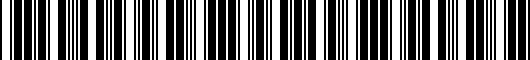 Barcode for 56107149716Z